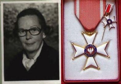 Alice (na zdjęciu z lewej) otrzymała najwyższe odznaczenie PRL-owskiej Polski.