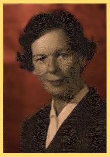 Alice Kraffczyk. Jedyna zachowana fotografia z jej młodości. Materiał z teczek IPN-u.