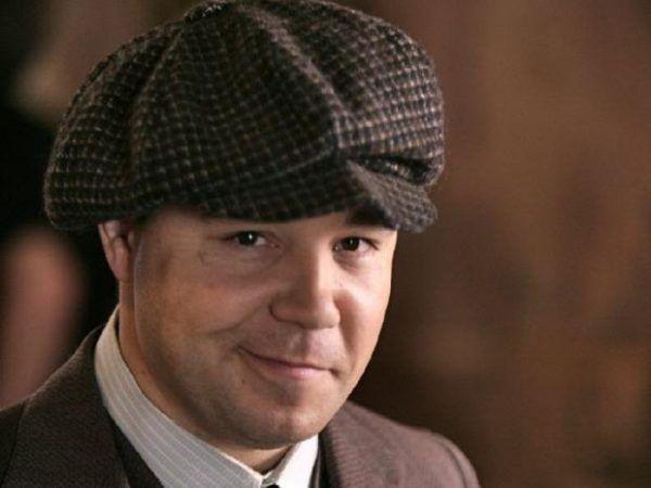 "Al Capone. Kadr z serial ""Boardwalk Empire""."