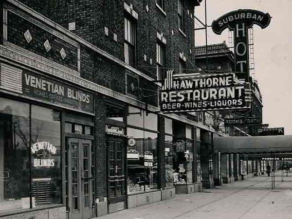 """Restauracja """"Hawthorne"""". Wydarzenia, które rozegrały się tutaj w 1926 roku zapewniły jej nieprzemijającą popularność wśród pasjonatów historii mafii."""