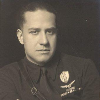 Galeazzo Ciano. Zawdzięczał wszystko Mussoliniemu jednak zdecydował się go zdradzić, za co zapłacił głową.