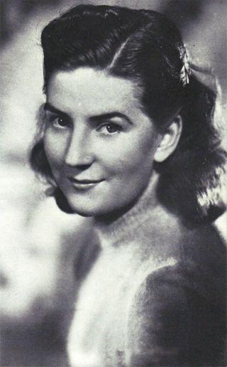Piękna Hildegard Burkhardt Beetz. Niemiecka agentka, która zadurzyła się w Ciano.