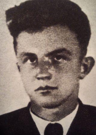 Ppor. Feliks Perekładowski we własnej osobie.