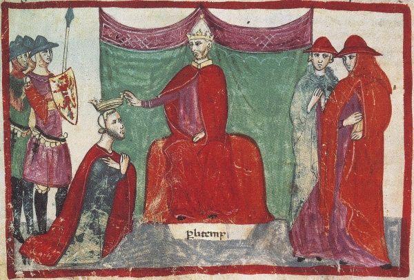 W drugiej połowie XI stulecia Bari dostało się w ręce normandzkiego władcy Roberta Guiscarda. W swoim czerwonym kubraczku (patrz ilustracja powyżej) bardziej przypominał on stereotypowego świętego Mikołaja niż prawdziwy biskup Miry...
