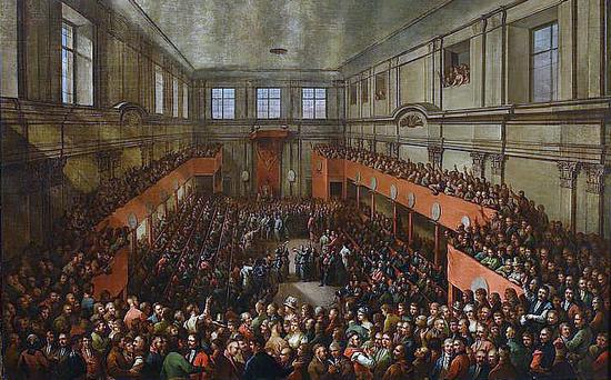 Aż 20% posłów biorących udział w obradach Sejmu Czteroletniego należało do masonerii.