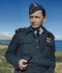 Marszałek Arthur Tedder we własnej osobie.