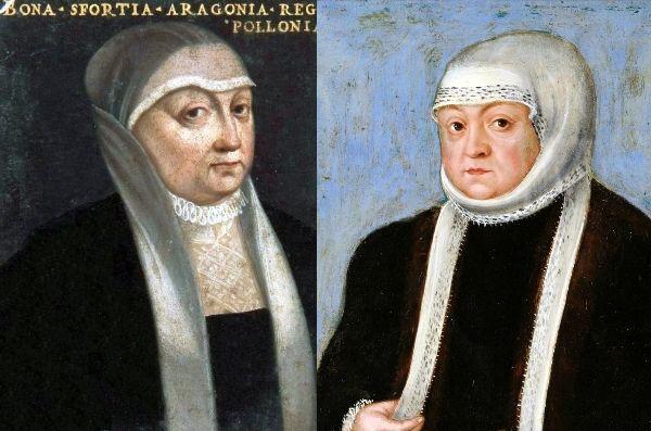 Bona nie zachwyca swoim wyglądem na żadnym z malarskich portretów...