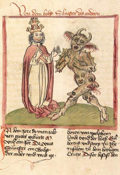 Sylwester (drugi) z diabłem za pan brat.