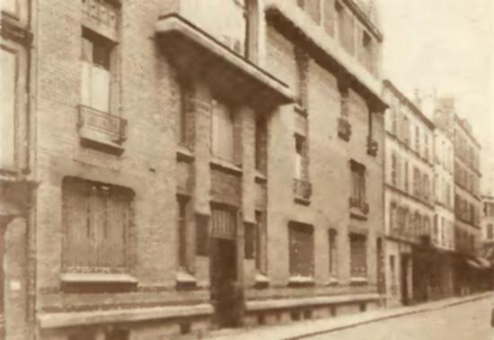 Fasada paryskiego szpitala, w którym Stanisława Umińska zabiła swego nieuleczalnie chorego męża.