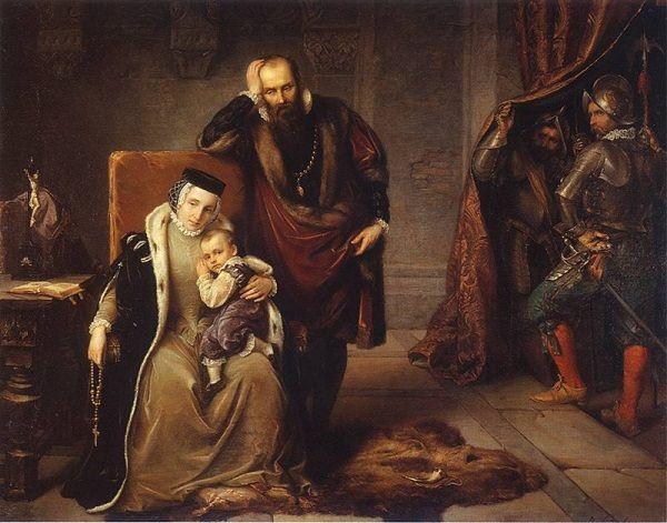 Mały Zygmunt III Waza. Od dziecka kształcono go na polskiego króla - i na Jagiellona.