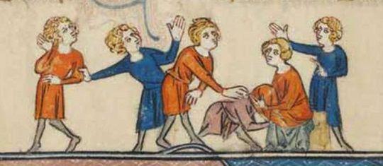Nie ma to jak średniowieczna swoboda obyczajowa...